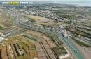 Marais salants de île-d'Oléron vue du ciel