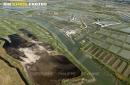 Marais de Saint-Just-Luzac vue du ciel
