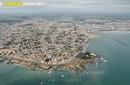 St-Gilles-Croix-de-Vie et St-Hilaire de Riez vue du ciel