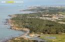 La mine, Talmont-Saint-Hilaire vue du ciel