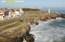 Saint-Hilaire-de-Riez le phare feu grosse terre vue du ciel