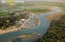 La Guittière, Talmont-Saint-Hilaire vue du ciel
