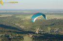 Paramoteur en vol  en Île-de-France