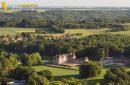 Château de Baville, Saint-Chéron vue du ciel