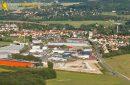 Breuillet vue du ciel, zone commerciale Port Sud