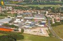 Breuillet zone commerciale Port Sud  vue du ciel,