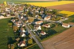 Boinville-le-Gaillard vue du ciel