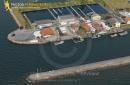 Port de Larros Gujan-Mestras vue du ciel