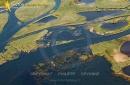 Delta de Leyre Biganos vue du ciel