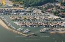 Port ostréicole d'Andernos-les-Bains vue du ciel