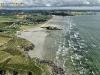 Ty an Quer plage vue du ciel, Finistère