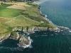 Pointe de Trefeuntec vue du ciel, Finistère