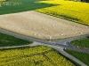 Photo aérienne champs Longeville-sur-Mer en Vendée