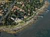 Vue aérienne de Saint-Palais-sur-Mer corniche de Terre-Nègre