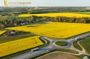 Prunay-en-Yvelines vue du ciel