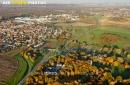 Bruyères-le-Châtel vue du ciel en Automne