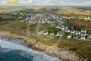 Lampaul-Plouarzel , Bretagne Finistère vue du ciel