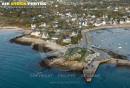 Port d'Argenton, Landunvez vue du ciel