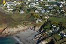 Le conquet , Bretagne Finistère vue du ciel