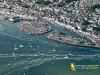 Port du Croisic vue du ciel