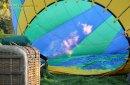 Gonflage montgolfière avec un bruleur gaz