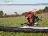 Le Puys de Dôme préparation du vol paramoteur