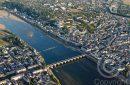 Photo aérienne de Loire pont Cessart à Saumur