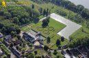 Photo aérienne château de Saint-Denis-Sur-Loire