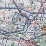 Carte OACI - Detail de la navigation vers Blois