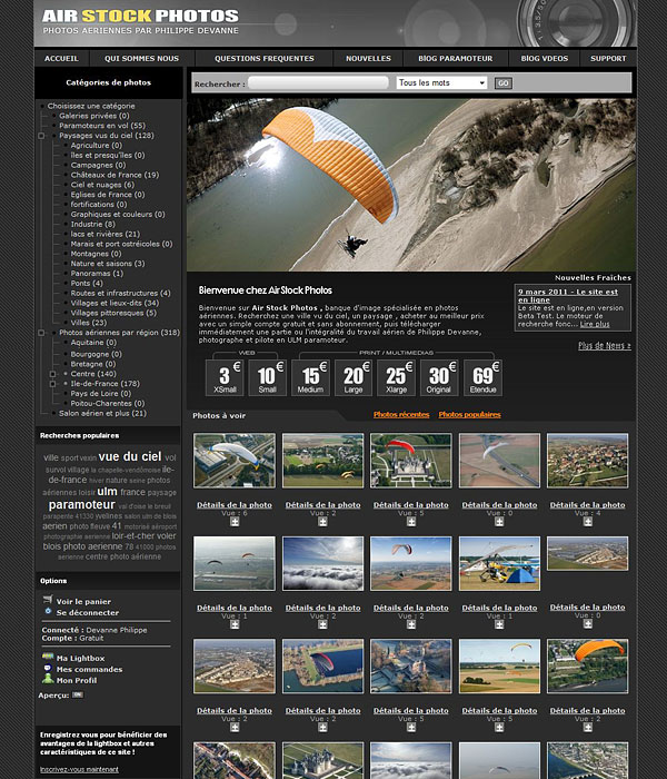 airstockphotos photos aeriennes