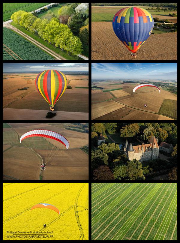 photo aérienne en Ile-de-France