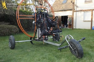 construction chariot paramoteur