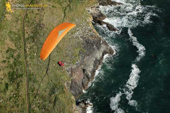 Soaring parapente Pointe de Trefeuntec, Finistre
