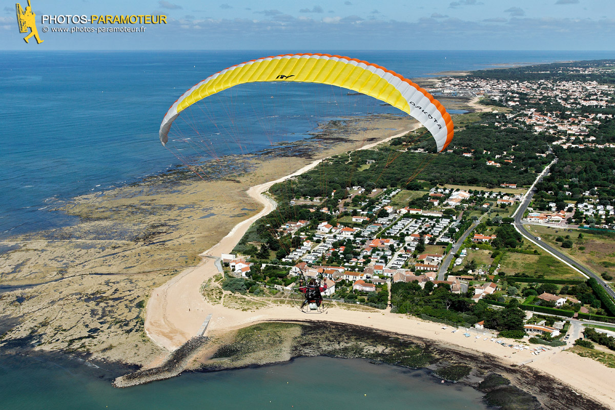 Photos aeriennes en paramoteur saint pierre d ol ron - Office de tourisme saint pierre d oleron ...