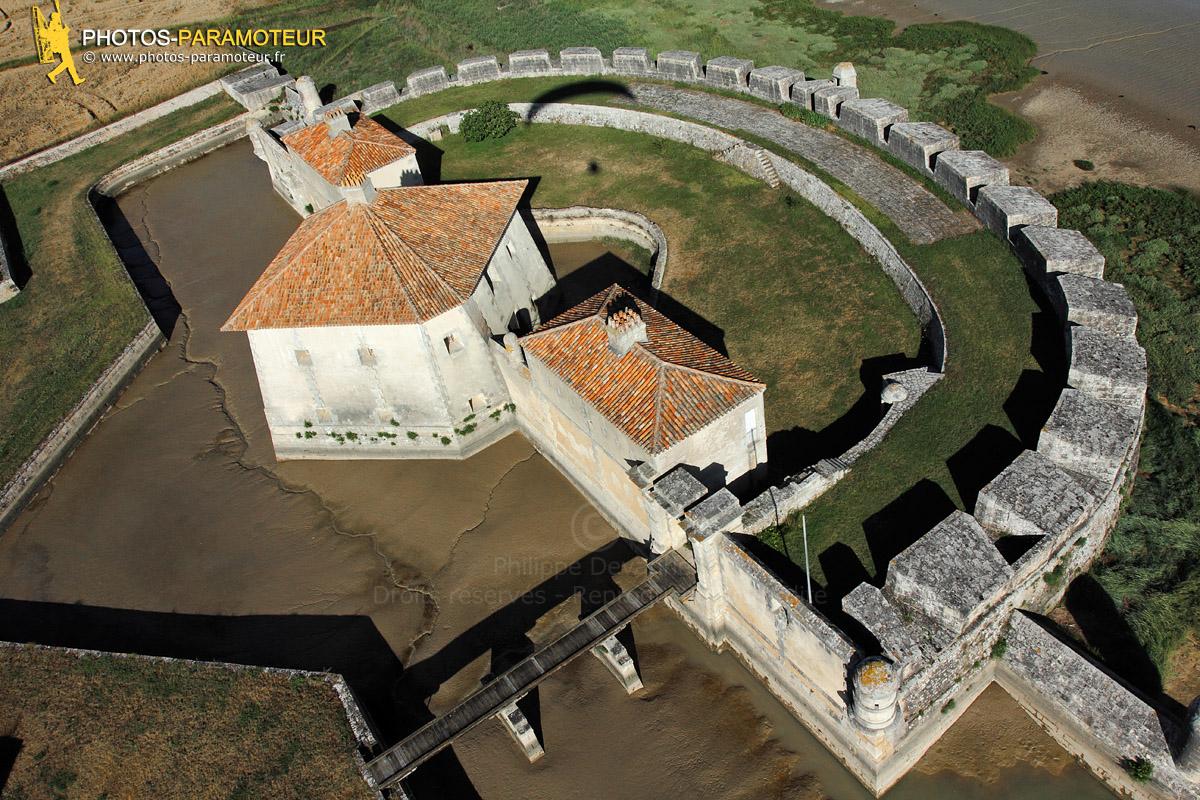 Photographie aérienne de Fort Lupin