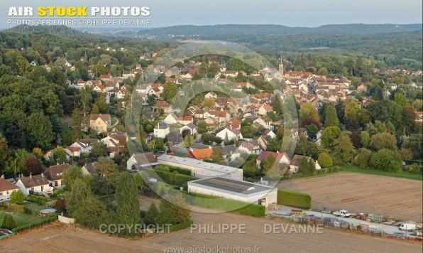 Saint-Chéron 91 vue du ciel