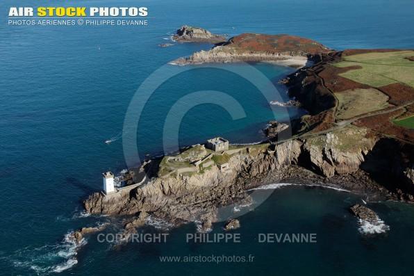Phare de Kermorvan, Le conquet vue du ciel, Bretagne