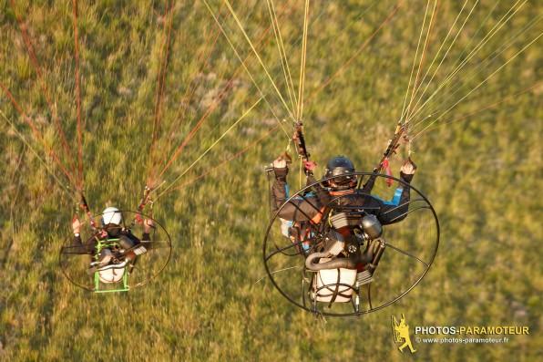 Vol paramoteur du 14/06/2015 avec waldek et Olivier en Essonne 91 , Ile-de-France