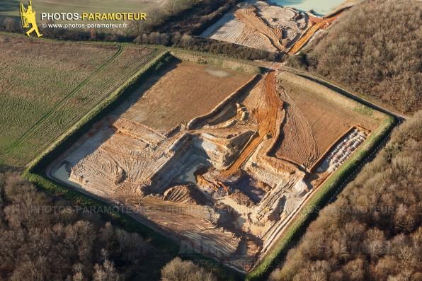 Photo aérienne d' Angervilliers (91470), Les Terres à pots , département de l'Essonne, région Île-de-France.