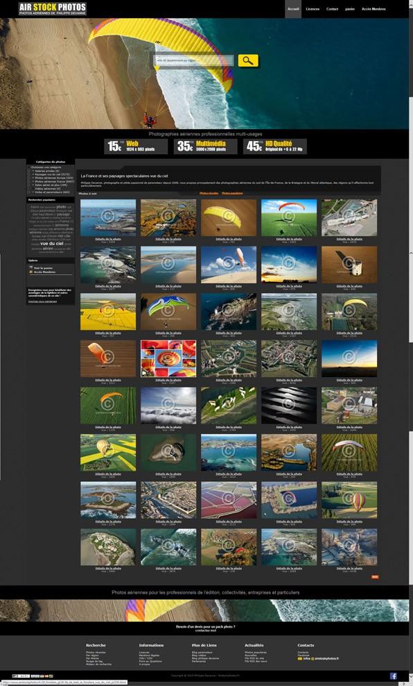 Stock photos aériennes - Vente de licences d'exploitation pour usage commercial, web, impression, carte postal, produits dérivés