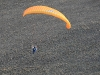 Vue aérienne en paramoteur