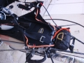 Parachute secours sur miniplane Top80