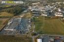 Hanches Centre commercial vue du ciel