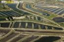 Marais de Bourcefranc-le-Chapus vue du ciel