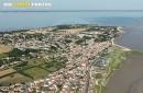 Port-des-Barques vue du ciel