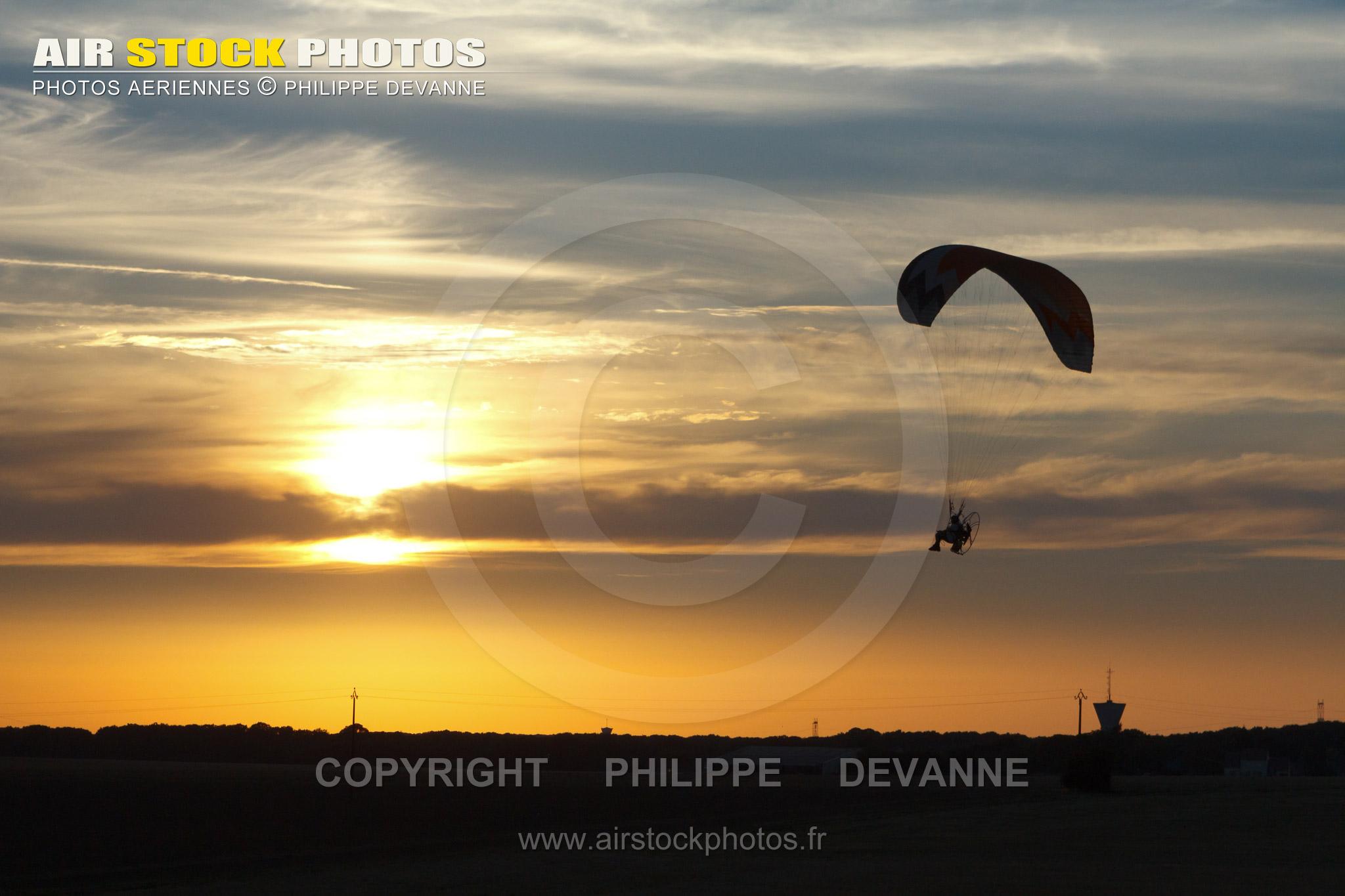 Paramoteur en Ile-de-France