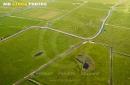 Marais Poitevin vue du ciel