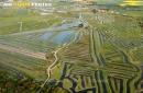 Marais de Jard-sur-Mer vue du ciel