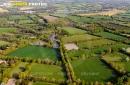 Bocage de Talmont-Saint-Hilaire vue du ciel