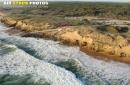 Plage de Sauveterre, Olonne-sur-Mer vue du ciel
